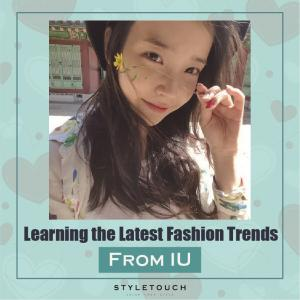 [라이브엔 카드뉴스] Learning the latest fall fashion trend from K-IDOL IU